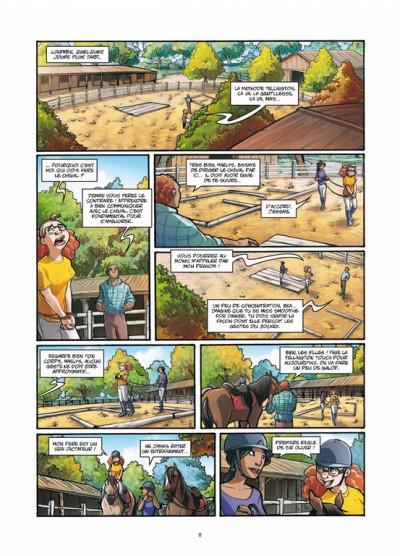 Page 6 galope comme le vent tome 2 - un choix difficile