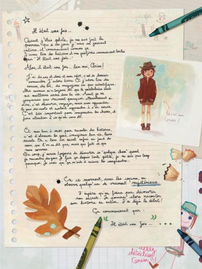 Page 3 Les carnets de Cerise tome 1