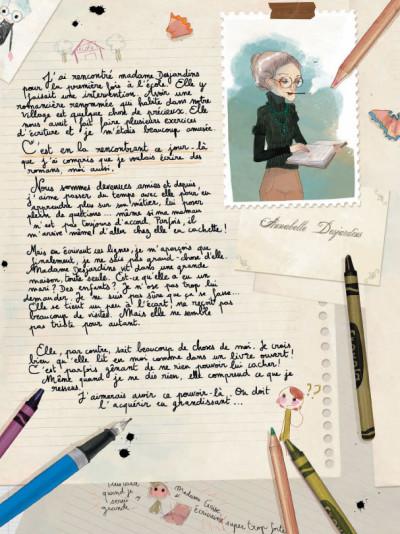 Page 6 Les carnets de Cerise tome 1