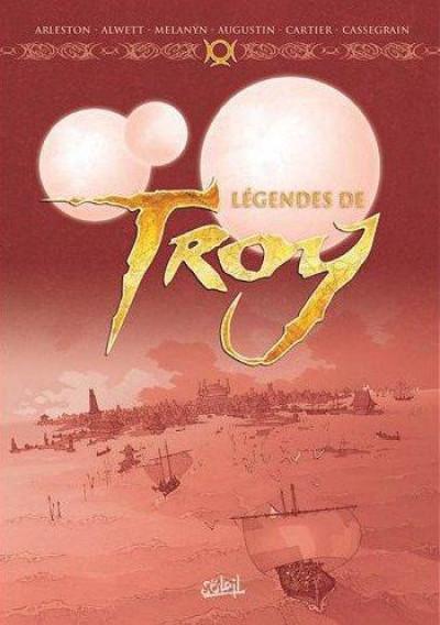 image de légendes de Troy ; coffret