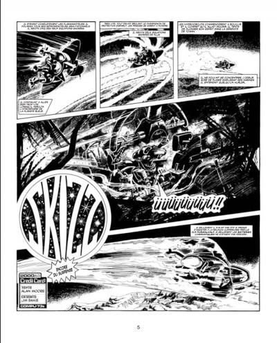 Page 1 les archives d'Alan Moore ; skizz