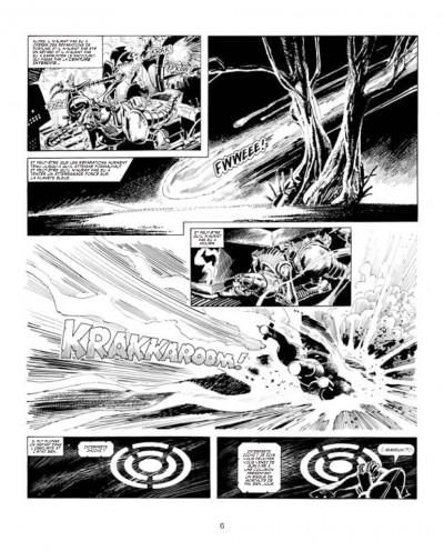 Page 2 les archives d'Alan Moore ; skizz