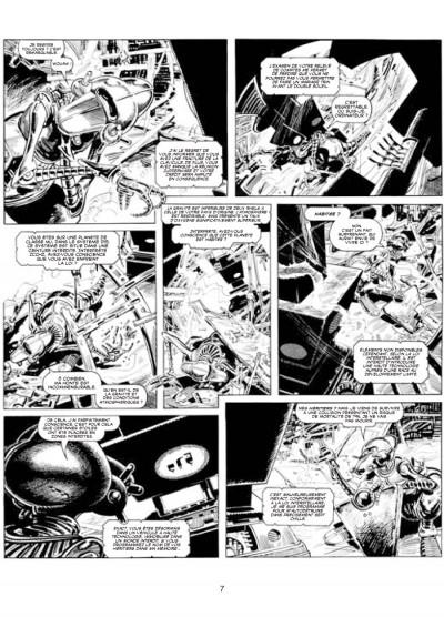 Page 3 les archives d'Alan Moore ; skizz