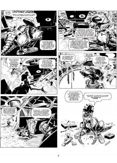 Page 4 les archives d'Alan Moore ; skizz