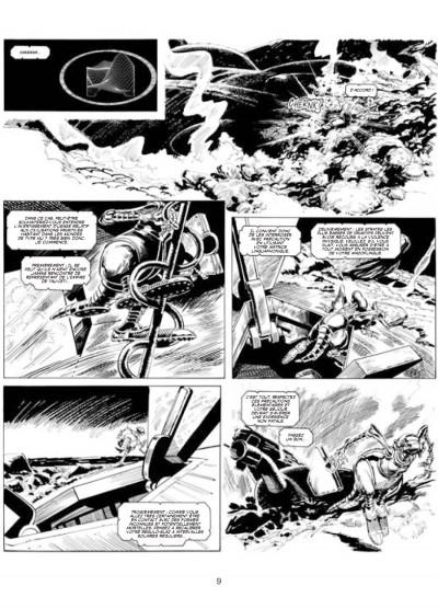 Page 5 les archives d'Alan Moore ; skizz