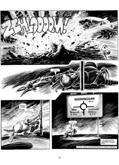 Page 6 les archives d'Alan Moore ; skizz