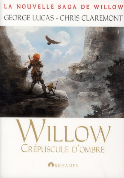 Couverture willow tome 2 - crépusucle d'ombre