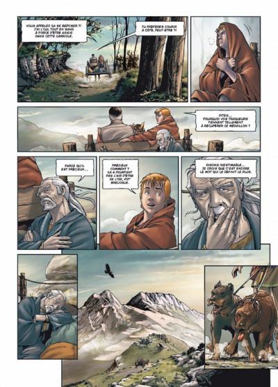 Page 3 le crépuscule de Tellure tome 2 - le duché de Richt