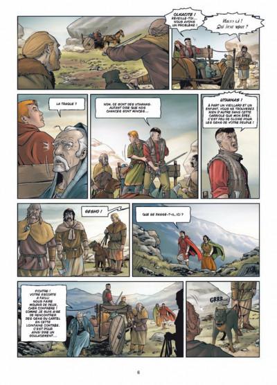 Page 4 le crépuscule de Tellure tome 2 - le duché de Richt