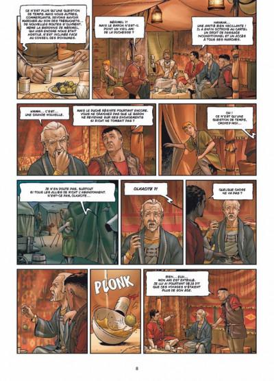 Page 6 le crépuscule de Tellure tome 2 - le duché de Richt
