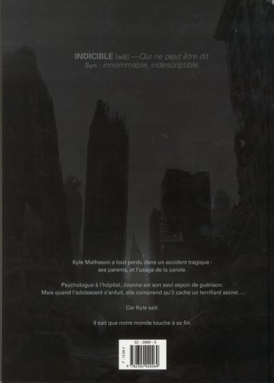 Dos indicible tome 1 - les dieux noirs