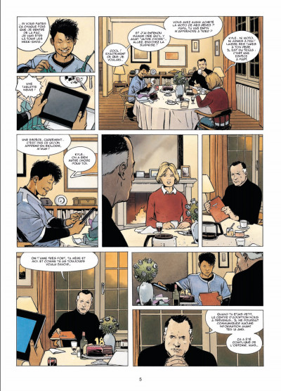 Page 3 indicible tome 1 - les dieux noirs