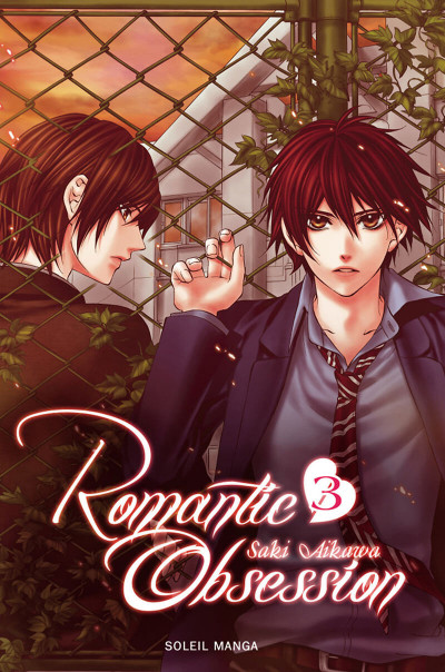 Couverture romantic obsession tome 3