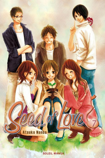 Couverture seed of love tome 7