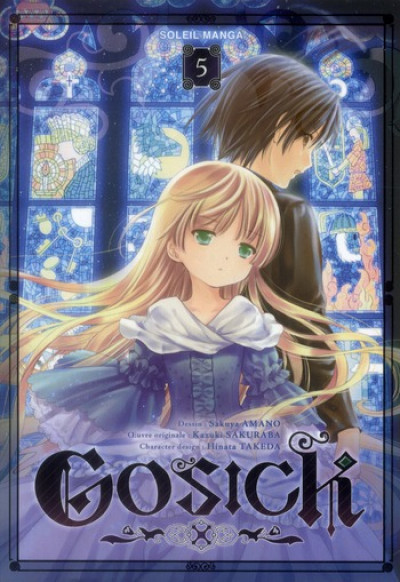 Couverture gosick tome 5