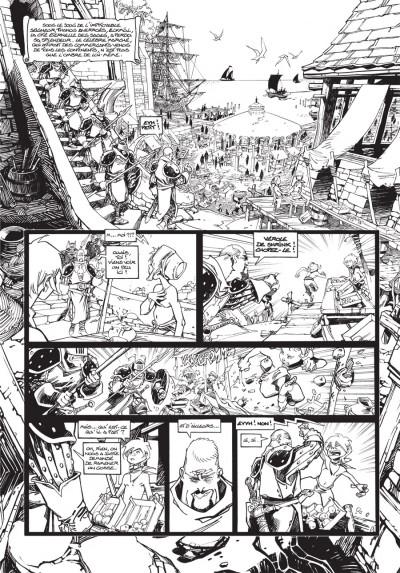Page 1 Cixi de Troy - édition luxe - le secret de Cixi tome 3