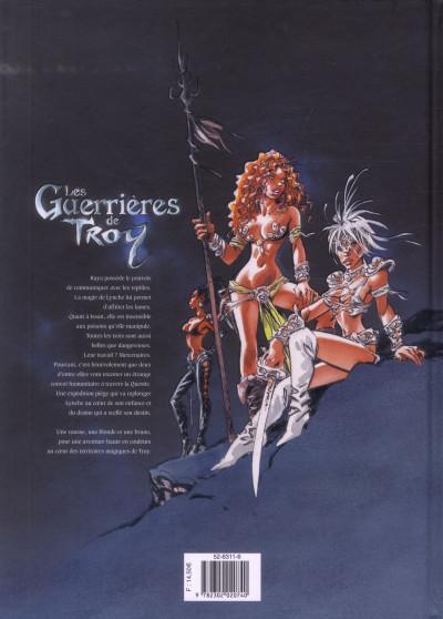 Dos les guerrières de Troy tome 2 - l'or des profondeurs