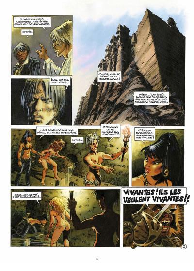 Page 5 les guerrières de Troy tome 2 - l'or des profondeurs