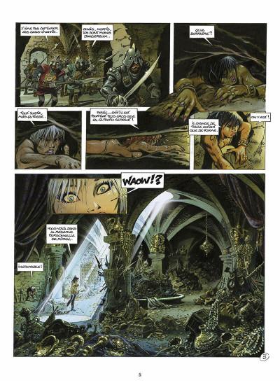 Page 6 les guerrières de Troy tome 2 - l'or des profondeurs