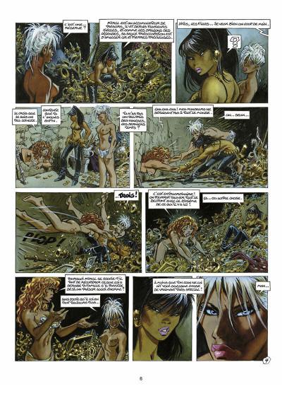 Page 7 les guerrières de Troy tome 2 - l'or des profondeurs