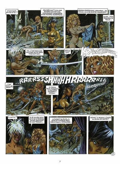 Page 8 les guerrières de Troy tome 2 - l'or des profondeurs