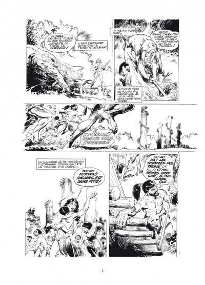 Page 1 Rahan - intégrale noir et blanc tome 6