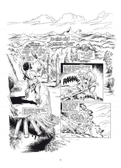 Page 2 Rahan - intégrale noir et blanc tome 6
