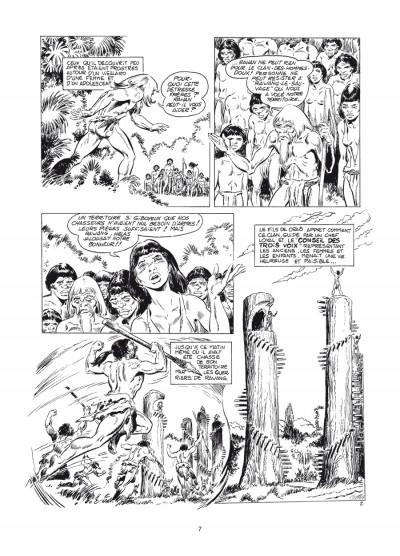 Page 3 Rahan - intégrale noir et blanc tome 6