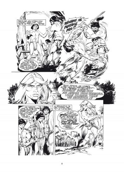Page 4 Rahan - intégrale noir et blanc tome 6