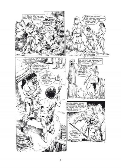 Page 5 Rahan - intégrale noir et blanc tome 6