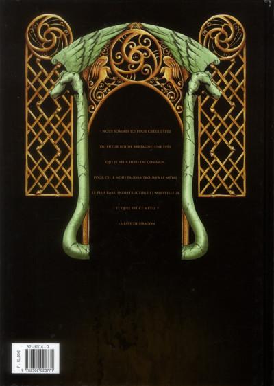 Dos Merlin la quête de l'épée tome 5 - Les dames du lac de feu
