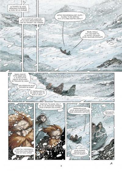 Page 1 Merlin la quête de l'épée tome 5 - Les dames du lac de feu