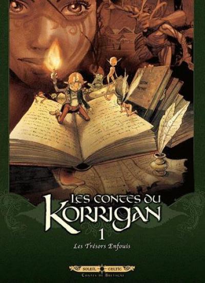 image de les contes du Korrigan tome 1 - les trésors enfouis (édition 2012)