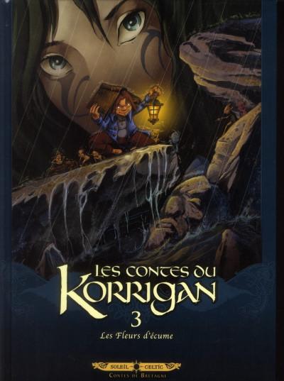 Couverture les contes du Korrigan tome 3 - les fleurs d'écume (édition 2012)