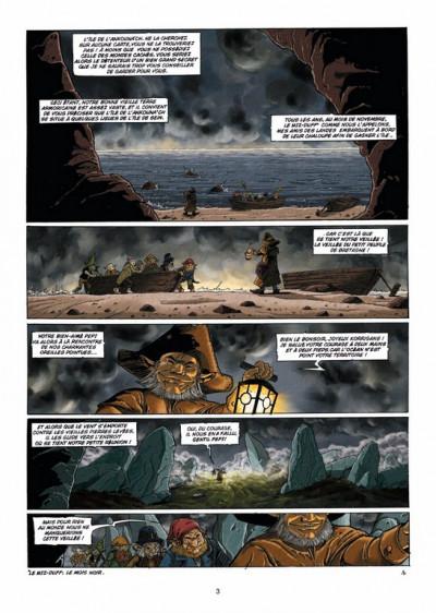 Page 1 les contes du Korrigan tome 3 - les fleurs d'écume (édition 2012)