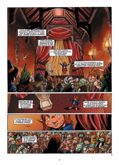 Page 3 les contes du Korrigan tome 3 - les fleurs d'écume (édition 2012)
