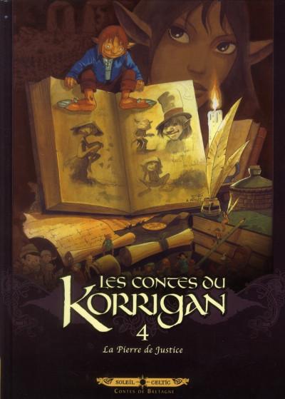 image de les contes du Korrigan tome 4 - la pierre de justice (édition 2012)