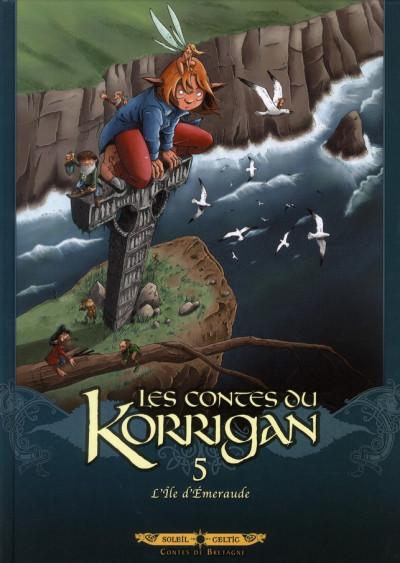 image de les contes du Korrigan tome 5 - l'île d'émeraude (édition 2012)