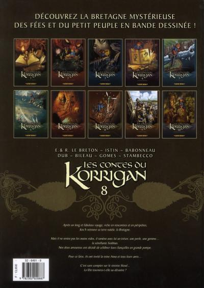 Dos les contes du korrigan tome 8 - Les Noces Féériques (édition 2012)