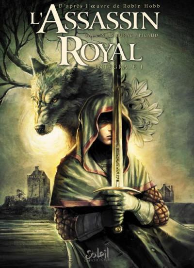 Couverture L'assassin royal - intégrale tome 1