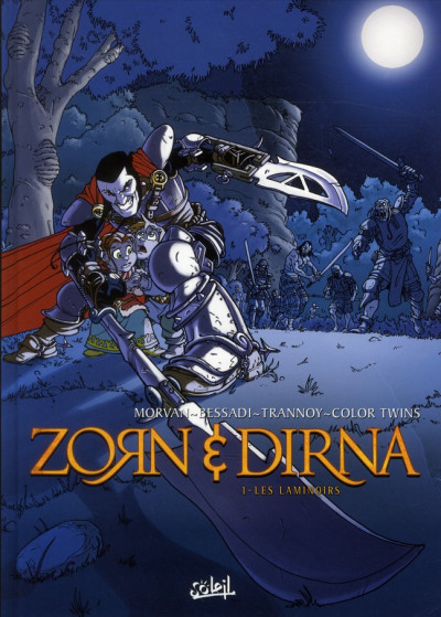 Couverture zorn & dirna tome 1 - Les Laminoirs (ned)