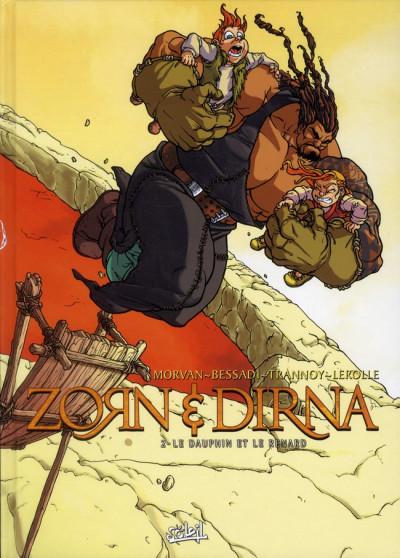Couverture zorn & dirna tome 2 - Le Dauphin et le Renard (NED)