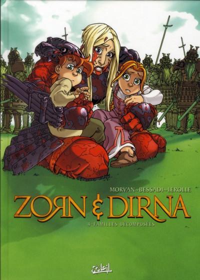 Couverture zorn & dirna tome 4 - Familles Décomposées (NED)