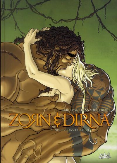 Couverture zorn & dirna tome 5 - Zombis dans la Brume (NED)