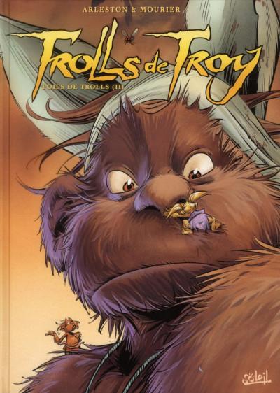 Couverture trolls de troy tome 16 - poils de trolls