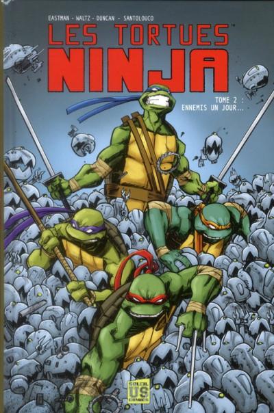 image de les tortues ninja tome 2 - ennemis un jour...