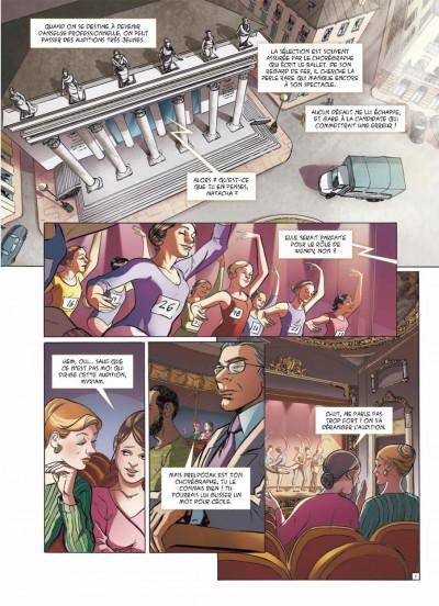 Page 1 danseuse tome 2 - une danse pour Sofia