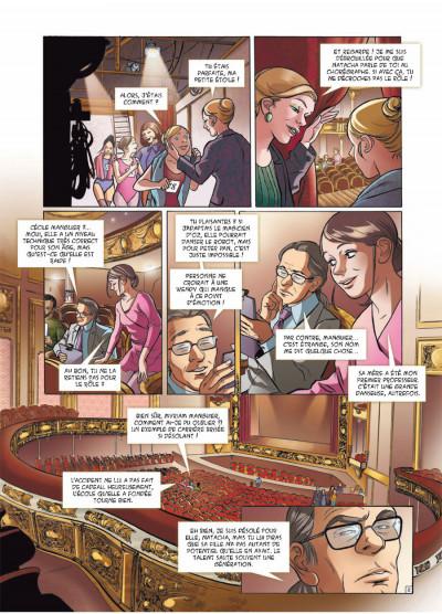 Page 2 danseuse tome 2 - une danse pour Sofia
