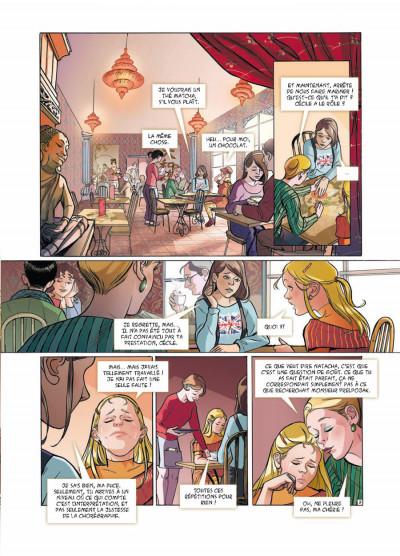 Page 3 danseuse tome 2 - une danse pour Sofia