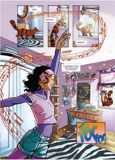 Page 5 danseuse tome 2 - une danse pour Sofia